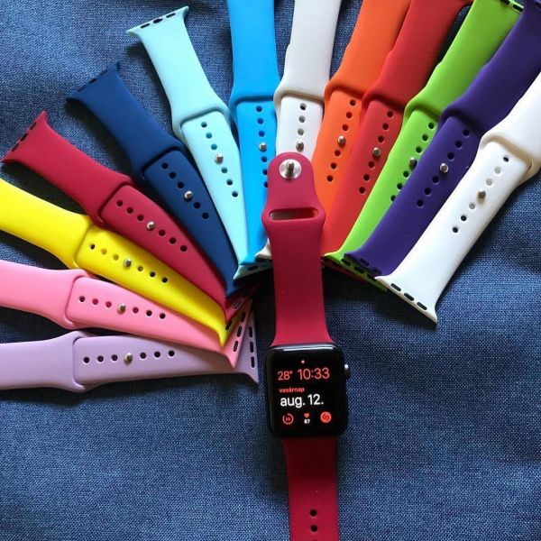 Silicon Band Apple Watch